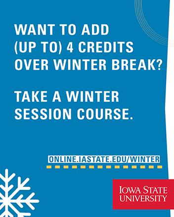 Iowa State Academic Calendar 2021 Important Dates • Winter Session • Iowa State University